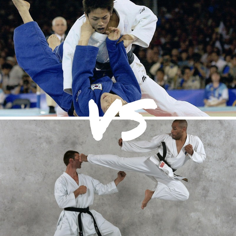 Judo ou karaté ?