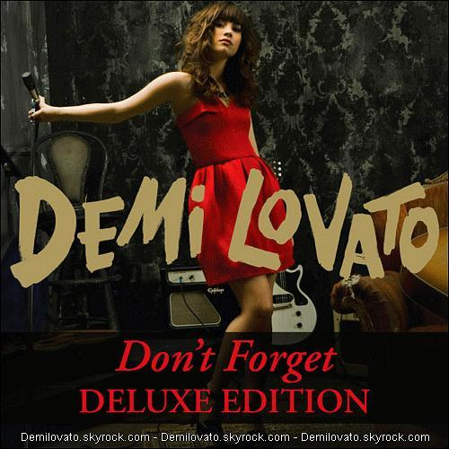 Le premier clip extrait de l'album 'Don't Forget' est :
