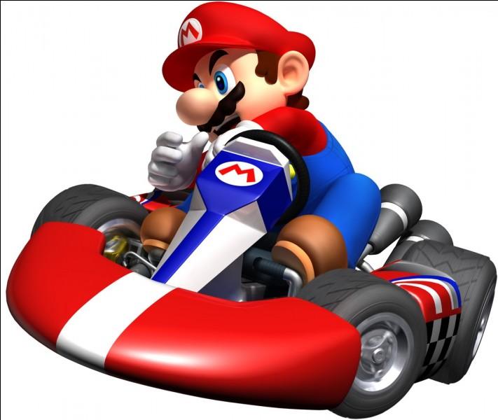 """Dans sa première vidéo sur sa chaîne Sora, quel personnage a-t-il choisi sur """"Mario Kart"""" ?"""