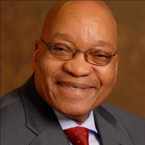 Partie 1 : politique : qui est l'actuel président sud-africain ?