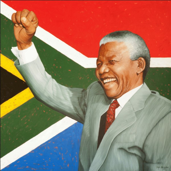 En quelle année Nelson Mandela devient-il le premier président noir sud-africain ?