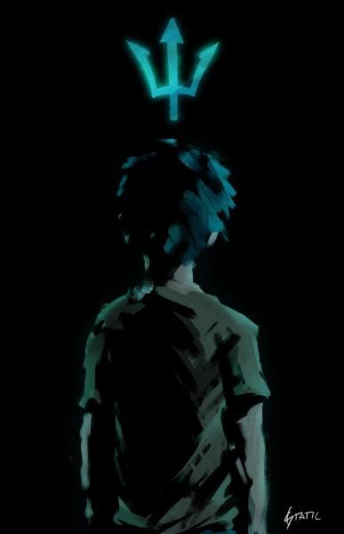 Comment Percy se sent il la première foisqu'il arrive à la colonie des sangs-mêlés ?