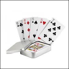 Laquelle de ces propositions ne désigne pas une teinte du jeu de cartes ?