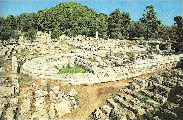 En Grèce, où se trouve Olympie ?