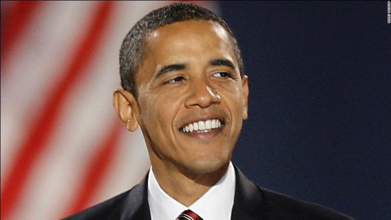 Quel était le mandat d'Obama avant son élection à la Présidence en 2008 ?