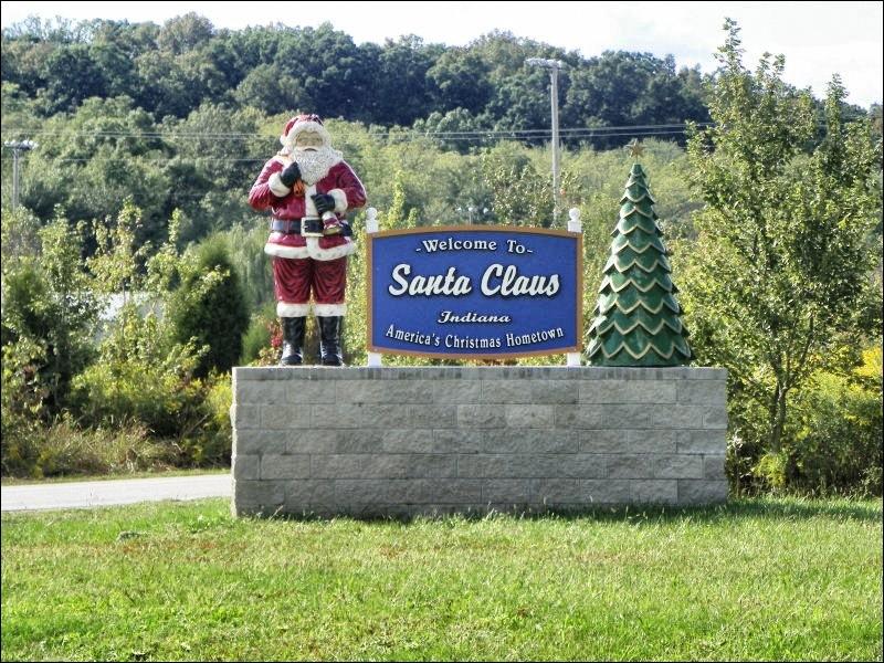 Il existe aux Etats-Unis une ville appelée Santa Claus.