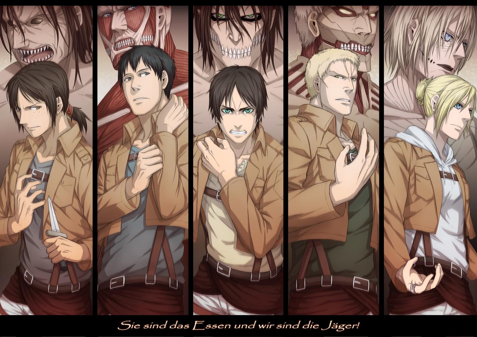 Personnages de Shingeki no Kyojin (Attaque des titans)
