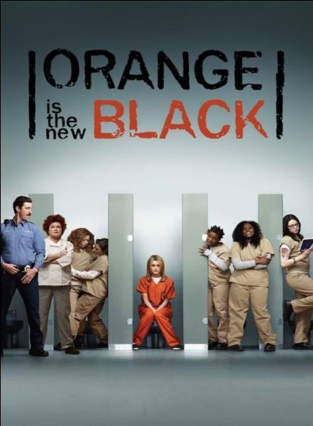 """On commence facile, """"Orange Is the New Black"""" est une série..."""