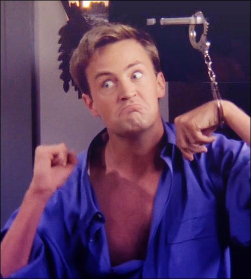 Quelle est la dernière phrase que Chandler ait dite dans la série ?
