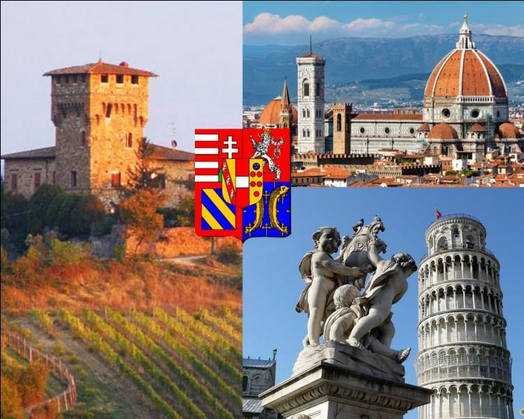 Située entre la partie nord de la mer Tyrrhénienne et les Apennins, où se positionne géographiquement cette région de l'Italie?