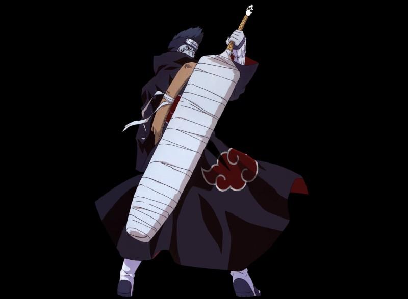 Comment se nomme l'épée de Kisame ?