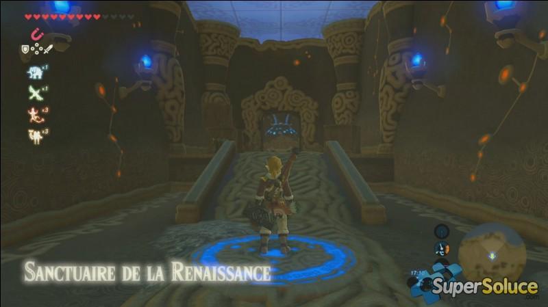 Pourquoi Link se réveille-t-il au sanctuaire de la renaissance ?