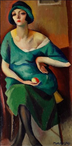 """""""Kiki"""" (1921), compagne et modèle attitré de l'artiste."""