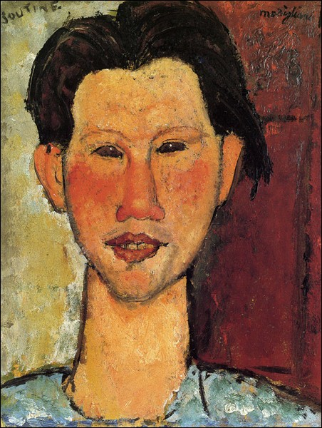 "Amedeo Modigliani ""Portrait de ..."" (1915), artiste peintre."