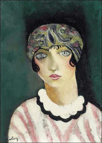 "Moïse Kisling ""..."" (1924), modèle attitré."