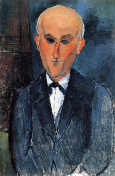 "Amedeo Modigliani ""Portrait ..."" (1916), écrivain."