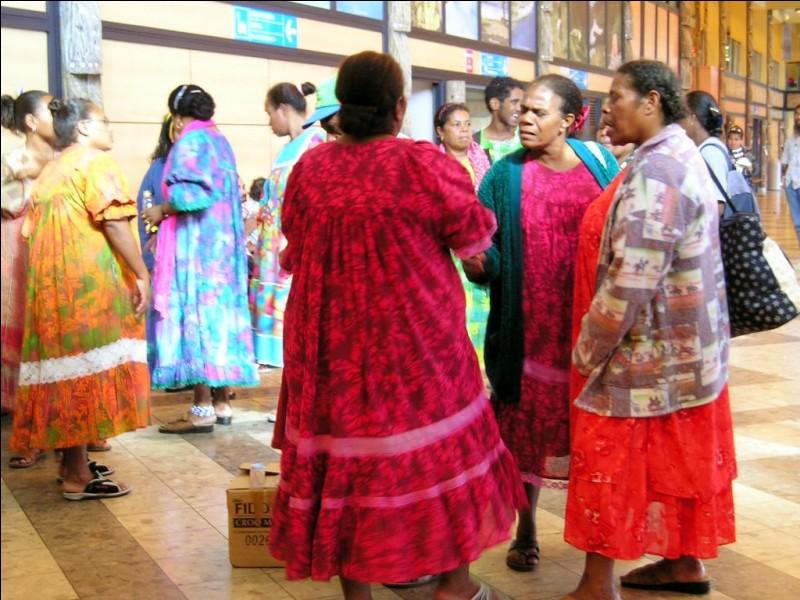 """K - Les """"Kanaks"""" constituent une partie de la population de la Nouvelle-Calédonie."""