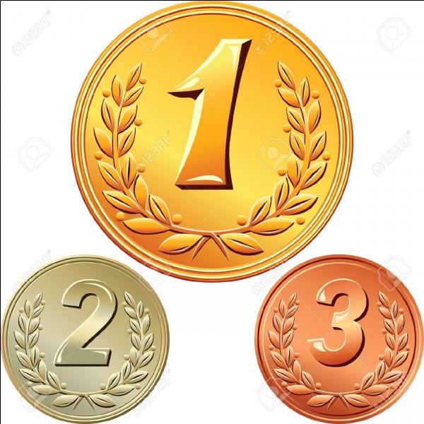 Combien de médaille(s) de bronze sont distribuées par catégorie lors des compétitions internationales de judo ?
