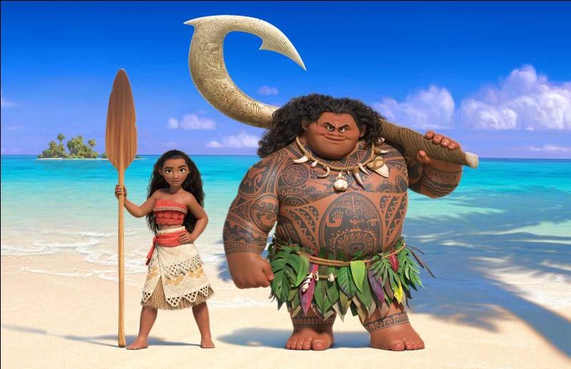 Quelles personnes doublent les voix de Maui et de Vaiana en français ?