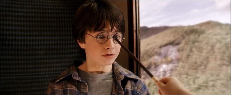 Quel sort Hermione jette-t-elle à Harry pour réparer ses lunettes ?