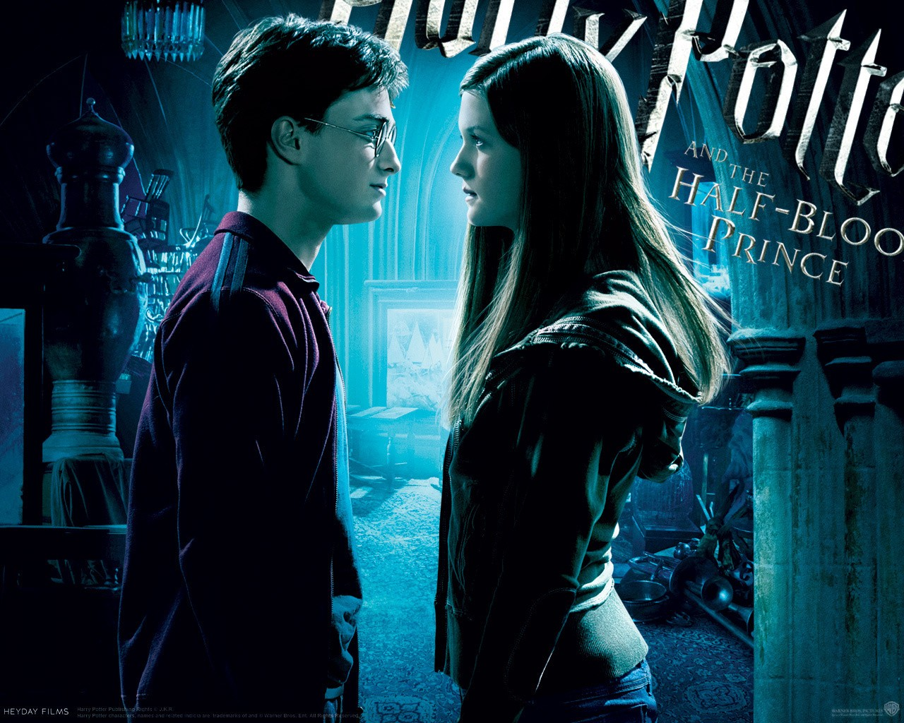 ''Harry and Ginny''