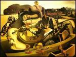 Qui a peint cette toile intitulée 'cannibalisme de l'automne' ?