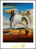 Qui a peint cette toile intitulée ' vestige atavique après la pluie' ?