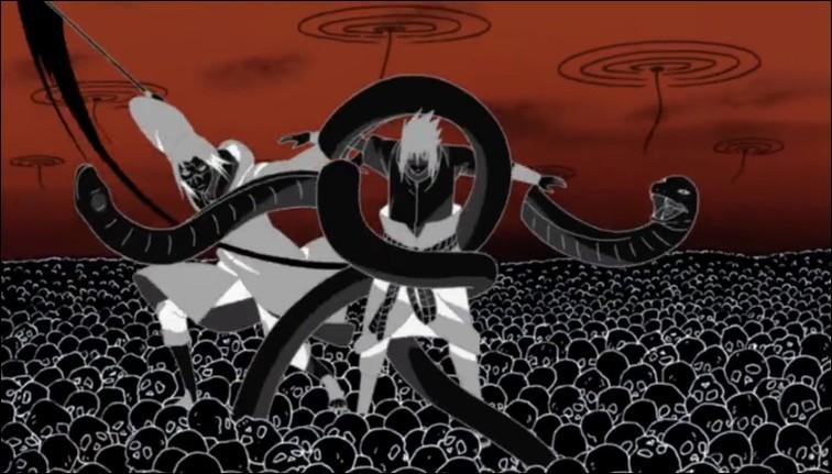 """Dans """"Naruto"""", il y a 3 styles de combat : le ninjutsu, le taijutsu et le..."""