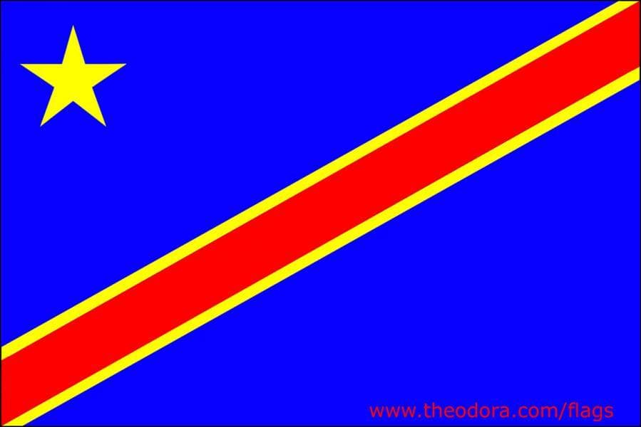Ce drapeau se trouve en Afrique.
