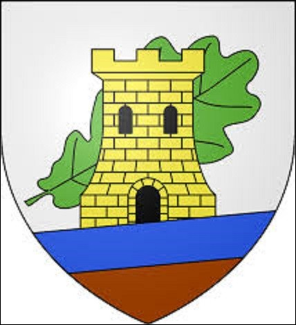 Petit bourg de la Nièvre de 912 habitants situé dans le canton de Clamecy, ce village est construit sur une ancienne ville gallo-romaine, assise au milieu d'une plaine, entourée d'une chaîne de collines et de vastes forêts qui s'étendent sur plusieurs kilomètres. Traversé par le Trelon qui se jette dans le Nohain, un affluent de la Loire, à quelle commune appartient ce blason ?