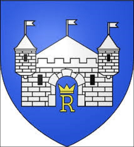 Chef-lieu de canton de la Drôme situé sur la rive droite de l'Isère à 20 km de Valence, cette ville compte 33 366 habitants. Ville de naissance de l'animateur de télévision Jean-Pierre Descombes le 20 décembre 1947, cette cité est aussi connue pour sa gastronomie. Quel est le nom de cette commune à qui appartient ce blason ?