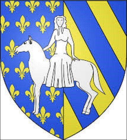 À quelle ville de l'Yonne de 3 135 habitants, qui posséda de 1995 à 2014 un illustre conseiller municipal en la personne de l'entraîneur de football Guy roux, ce blason appartient-il ?