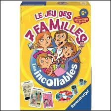 Qui ne trouve-t-on pas dans le jeu de 7 familles ?