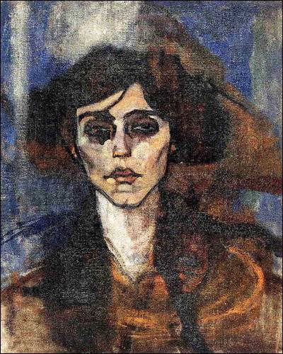 """""""Portrait de Maude Abrantes"""" (1907). Dessinatrice américaine."""