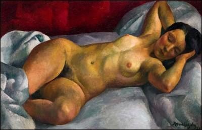 """""""Kiki de Montparnasse"""" (1921). Compagne."""