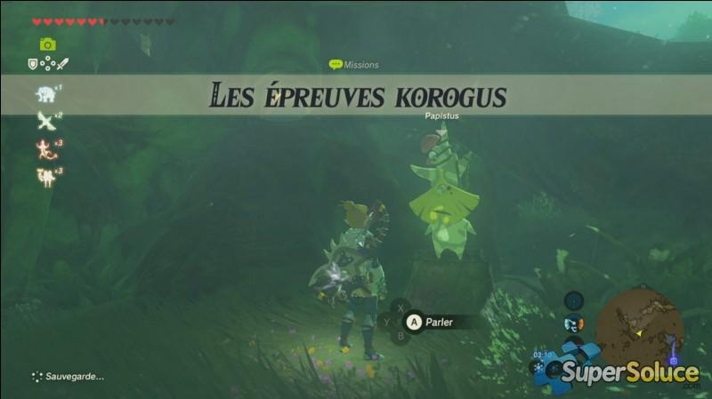 """Comment s'appellent les trois épreuves """"korogus"""" ?"""