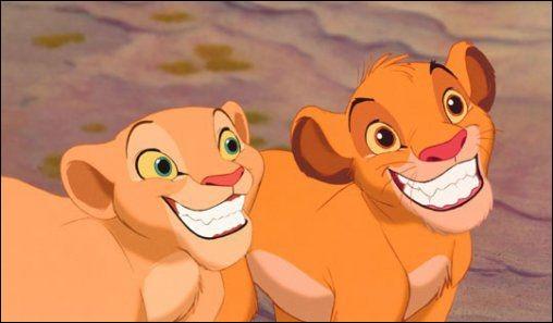 Comment s'appelle l'amoureuse de Simba ?