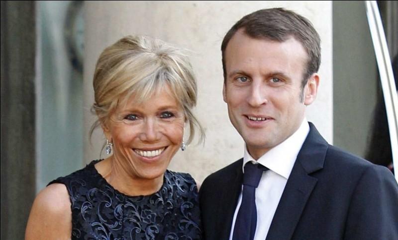 La femme de Macron se nomme :