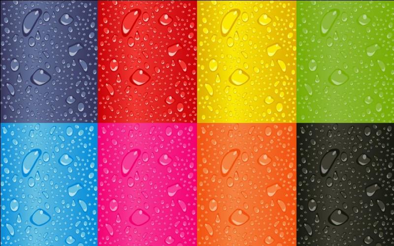 Quelles sont vos couleurs préférées ?