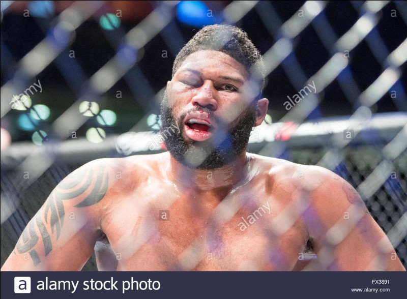 Nouveau combat le 10 avril 2016 lors de l'UFC Fight Night 86, il rencontre un nouvel arrivant : Curtis Blaydes. Quel fut le résultat ?