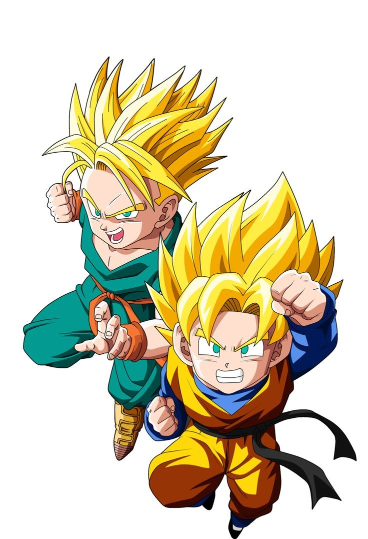 Dragon Ball Z/Super : Trunks ou Goten ?