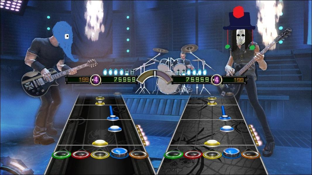 Alors, quel Guitar hero ?