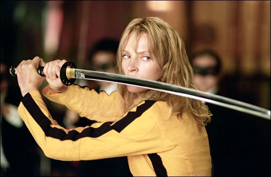 Dans combien de films de Q. Tarantino joue Uma Thurman ?