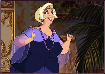 Comment s'appelle la dame de compagnie de l'Impératrice ?