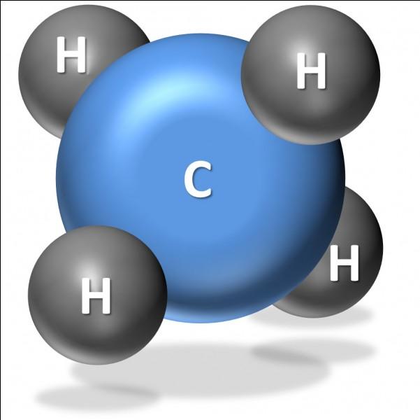 Quelle est la forme géométrique du méthane ?