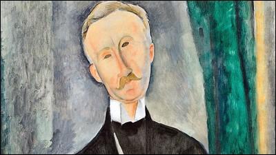 """""""Roger Dutilleul"""" (1919). Collectionneur passionné de l'artiste."""