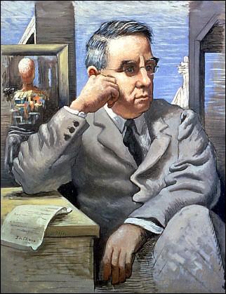 """Giorgio de Chirico """"..."""" (1926). Grand collectionneur américain."""