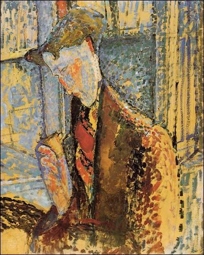 """""""Portrait Frank Burty Haviland"""" (1914). Peintre, collectionneur."""