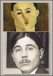 """Amedeo Modigliani """"..."""". Son premier marchand. Galeriste rive droite, collectionneur."""