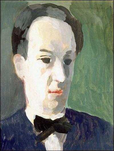 """""""André Salmon"""" (1942). Poète, critique d'art."""